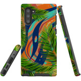 For Samsung Galaxy Note 10 Case Tough Protective Cover Leaves