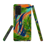 For Samsung Galaxy Note 20 Case Tough Protective Cover Leaves
