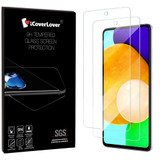 iCoverLover [2-Pack] Samsung Galaxy A52 5G / 4G Tempered Glass Screen Protector
