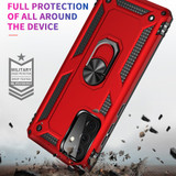 For Samsung Galaxy A72/A71 4G Armour Case, Ring Holder, Red | iCoverLover.com.au | Samsung Galaxy A Cases