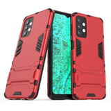 For Samsung Galaxy A32 5G Plastic Shockproof Protective Case, Holder, Red   iCoverLover.com.au   Samsung Galaxy A Cases