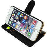 iPhone 6S & 6 Case Black Fashion Cowhide Genuine Leather Wallet with Card and Cash Compartments | Genuine Leather iPhone 6 & 6S Covers Cases | Genuine Leather iPhone 6 & 6S Covers