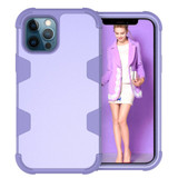 For iPhone 12 Pro Max/12 Pro/12/12 mini Case Protective Armored 3-Layer Cover,Purple   Protective iPhone Cases   icoverlover.com.au