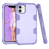 For iPhone 12 mini Case Protective Armored 3-Layer Cover,Purple   Protective iPhone Cases   icoverlover.com.au