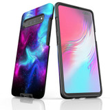 For Samsung Galaxy S21 Ultra/S21+ Plus/S21,S20 Ultra/S20+/S20,S10 5G, S10+/S10/S10e, S9+/S9 Case, Tough Protective Back Cover, Abstract Galaxy | Protective Cases | iCoverLover.com.au