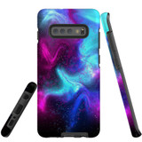 For Samsung Galaxy S10+ Plus Case, Tough Protective Back Cover, Abstract Galaxy | Protective Cases | iCoverLover.com.au
