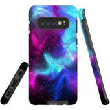For Samsung Galaxy S10 Case, Tough Protective Back Cover, Abstract Galaxy | Protective Cases | iCoverLover.com.au