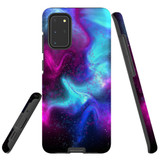 For Samsung Galaxy S20+ Plus Case, Tough Protective Back Cover, Abstract Galaxy | Protective Cases | iCoverLover.com.au