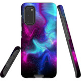 For Samsung Galaxy S20 Case, Tough Protective Back Cover, Abstract Galaxy | Protective Cases | iCoverLover.com.au