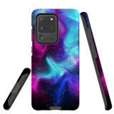 For Samsung Galaxy S20 Ultra Case, Tough Protective Back Cover, Abstract Galaxy | Protective Cases | iCoverLover.com.au