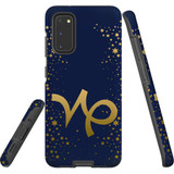 For Samsung Galaxy S20 Case, Tough Protective Back Cover, Capricorn Sign   Protective Cases   iCoverLover.com.au