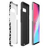 For Samsung Galaxy S21 Ultra/S21+ Plus/S21,S20 Ultra/S20+/S20,S10 5G, S10+/S10/S10e, S9+/S9 Case, Tough Protective Back Cover, Cow Pattern | Protective Cases | iCoverLover.com.au