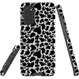For Samsung Galaxy S20 Case, Tough Protective Back Cover, Cow Pattern | Protective Cases | iCoverLover.com.au
