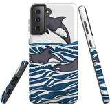 For Samsung Galaxy S10e Case, Tough Protective Back Cover, Orcas | Protective Cases | iCoverLover.com.au