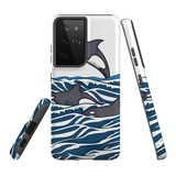 For Samsung Galaxy S20 Case, Tough Protective Back Cover, Orcas | Protective Cases | iCoverLover.com.au