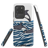 For Samsung Galaxy S20 Ultra Case, Tough Protective Back Cover, Orcas | Protective Cases | iCoverLover.com.au