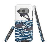 For Samsung Galaxy S21+ Plus Case, Tough Protective Back Cover, Orcas | Protective Cases | iCoverLover.com.au