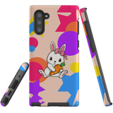 For Samsung Galaxy Note 10 Case, Tough Protective Back Cover, Cute Bunny | Protective Cases | iCoverLover.com.au