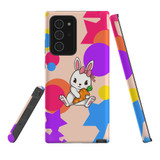 For Samsung Galaxy Note 20 Ultra Case, Tough Protective Back Cover, Cute Bunny | Protective Cases | iCoverLover.com.au