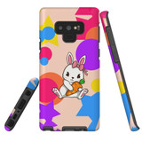 For Samsung Galaxy Note 9 Case, Tough Protective Back Cover, Cute Bunny | Protective Cases | iCoverLover.com.au