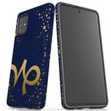 For Samsung Galaxy A51 5G/4G, A71 5G/4G, A90 5G Case, Tough Protective Back Cover, Capricorn Sign   Protective Cases   iCoverLover.com.au