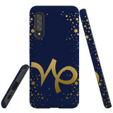 For Samsung Galaxy A90 5G Case, Tough Protective Back Cover, Capricorn Sign   Protective Cases   iCoverLover.com.au