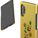 For Samsung Galaxy Note 20 UItra/Note 20/Note 10+ Plus/Note 10/9 Case, Tough Protective Back Cover, Honey Bees | Protective Cases | iCoverLover.com.au