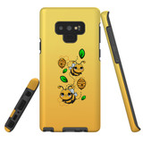 For Samsung Galaxy Note 9 Case, Tough Protective Back Cover, Honey Bees | Protective Cases | iCoverLover.com.au