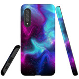 For Samsung Galaxy A90 5G Case, Tough Protective Back Cover, Abstract Galaxy   Protective Cases   iCoverLover.com.au