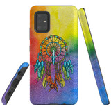 For Samsung Galaxy A51 5G Case, Tough Protective Back Cover, Colourful Dreamcatcher   Protective Cases   iCoverLover.com.au