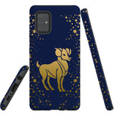 For Samsung Galaxy A71 4G Case, Tough Protective Back Cover, Aries Drawing | Protective Cases | iCoverLover.com.au