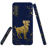 For Samsung Galaxy A90 5G Case, Tough Protective Back Cover, Aries Drawing | Protective Cases | iCoverLover.com.au