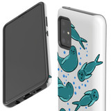 For Samsung Galaxy A51 5G/4G, A71 5G/4G, A90 5G Case, Tough Protective Back Cover, Baby Seals | Protective Cases | iCoverLover.com.au
