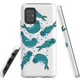For Samsung Galaxy A71 4G Case, Tough Protective Back Cover, Baby Seals | Protective Cases | iCoverLover.com.au
