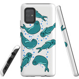 For Samsung Galaxy A71 5G Case, Tough Protective Back Cover, Baby Seals | Protective Cases | iCoverLover.com.au