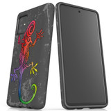 For Samsung Galaxy A51 5G/4G, A71 5G/4G, A90 5G Case, Tough Protective Back Cover, Colorful Lizard | Protective Cases | iCoverLover.com.au