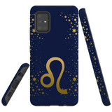 For Samsung Galaxy A51 5G Case, Tough Protective Back Cover, Leo Sign   Protective Cases   iCoverLover.com.au