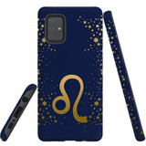 For Samsung Galaxy A71 4G Case, Tough Protective Back Cover, Leo Sign   Protective Cases   iCoverLover.com.au