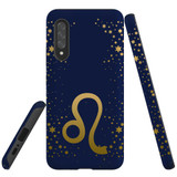 For Samsung Galaxy A90 5G Case, Tough Protective Back Cover, Leo Sign   Protective Cases   iCoverLover.com.au