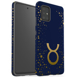 For Samsung Galaxy A51 5G/4G, A71 5G/4G, A90 5G Case, Tough Protective Back Cover, Taurus Sign   Protective Cases   iCoverLover.com.au