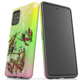 For Samsung Galaxy A51 5G/4G, A71 5G/4G, A90 5G Case, Tough Protective Back Cover, Kookaburras   Protective Cases   iCoverLover.com.au