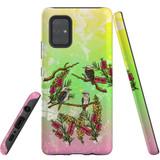 For Samsung Galaxy A71 5G Case, Tough Protective Back Cover, Kookaburras   Protective Cases   iCoverLover.com.au