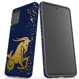 For Samsung Galaxy A51 5G/4G, A71 5G/4G, A90 5G Case, Tough Protective Back Cover, Capricorn Drawing | Protective Cases | iCoverLover.com.au