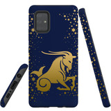 For Samsung Galaxy A71 4G Case, Tough Protective Back Cover, Capricorn Drawing | Protective Cases | iCoverLover.com.au