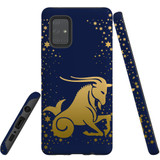 For Samsung Galaxy A71 5G Case, Tough Protective Back Cover, Capricorn Drawing | Protective Cases | iCoverLover.com.au