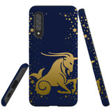 For Samsung Galaxy A90 5G Case, Tough Protective Back Cover, Capricorn Drawing | Protective Cases | iCoverLover.com.au