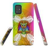 For Samsung Galaxy A51 5G Case, Tough Protective Back Cover, Colourful Lion | Protective Cases | iCoverLover.com.au