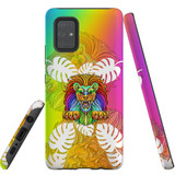 For Samsung Galaxy A71 4G Case, Tough Protective Back Cover, Colourful Lion | Protective Cases | iCoverLover.com.au