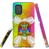 For Samsung Galaxy A71 5G Case, Tough Protective Back Cover, Colourful Lion | Protective Cases | iCoverLover.com.au