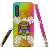 For Samsung Galaxy A90 5G Case, Tough Protective Back Cover, Colourful Lion | Protective Cases | iCoverLover.com.au